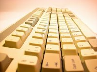 Yellow keyboard
