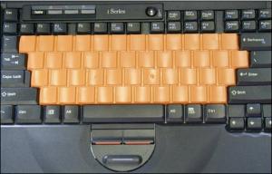 Speedskin Learn To Type Keyboard Skin, Not A Mailer