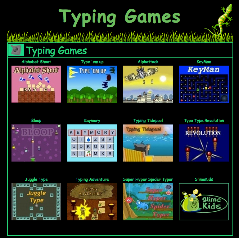 Learn to type correctly game